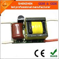 AC110V AC220V 3x1W hohe Qualität PF0.9 Triac dimmbare LED-Treiber-Lampe Stromversorgung Trafos