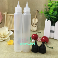 1200pcs Wide Mouth 30ml Bottle with Big Month Cap PE 30 ML E...