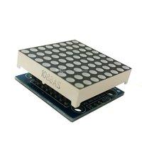 1Pc MAX7219 도트 매트릭스 모듈 MCU LED 디스플레이 제어 모듈, Arduino G00249 용