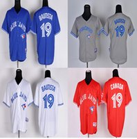 Toronto Blue Jays Men jersey Authentic #19 Jose Bautista hom...