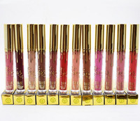2017 Mais recente Kylie Jenner Limited Birthday Edition CONFIRMADO Lipgloss koko k candy k leo 19 cores Lipstick mate Kylie cosméticos Lip Golss
