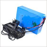 Bateria De Lítio Recarregável 60 V 20Ah Bicicleta Elétrica Da Bateria 60 V Para 2000 W Motor Com 5A Carregador Embutido 50A BMS Frete Grátis