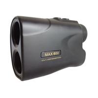Brandneue hochgenaue 600m Black Golf Range Finder Laser-Rangfinder mit Pinseeker-Funktion / Yardage-Gerät