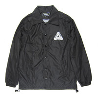 PALACE Black Jacket Mens Windbreaker Waterproof Outdoor Hiki...