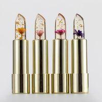립글로스 Kailijumei 꽃 매직 색 온도 변화 보습 밝은 잉여 립스틱 입술 케어 밤 Batom 꽃 립스틱