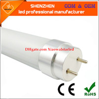 4 ft LED tube T8 metal cap rotate LED Fluorescent Tubes SMD2...
