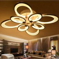 DIMMING LED потолочный светильник Современная бабочка люстра освещение для гостиной спальни украшения
