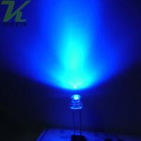 Il kit ultra luminoso del diodo dei LED del cappello di paglia blu di 1000pcs 5mm ha condotto i diodi chiari del LED del cappello di paglia 5mm Trasporto libero