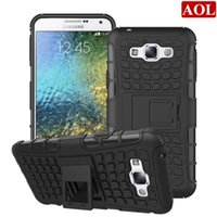 Hybrid Kickstand Case Shock Proof 2in1 For Samsung Galaxy E7...