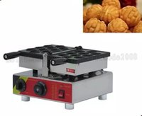 YENI 110/220 V Çin Tüm Satış Tek Kafa Mini Ceviz Waffle makinesi Elektrik ve Gaz Modelleri ile MYY