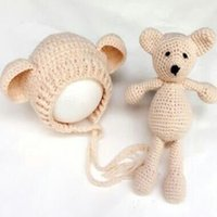 Hot! Newborn Baby Girl Boy Photography Prop Photo Crochet Kn...