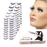 놀라운 아름다운 인공 속눈썹 makeuptools 합성 속눈썹 확장 extensions bellahair 무료 배송