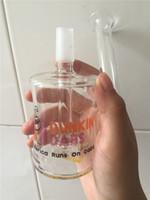 Tupfbecher Taschenglasbong Mini Bubbler Glasaschenfänger Inline Percolator Water Pipe Oil
