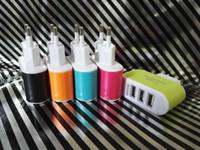 Luz 3 usb hole plug cabeça carregador de telefone plug tablet smartphones mais do que viagens em geral 5 v 3.1 a