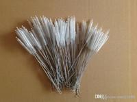 spedizione gratuita biberon acciaio inox cannuccia pennello tubo di nylon pulizia spazzola spazzola bottiglia strumento di pulizia del tubo delle vie respiratorie