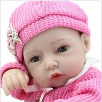 Estilo 28 cm Chica Baby Doll Muñeca de 10 pulgadas Full Soft Vinyl Body Reborn Viva Babies Muñecas Niños Cumpleaños Regalo de Navidad