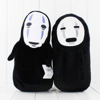 Anime Çizgi Miyazaki Hayao Ruhların Kaçışı Yüzsüz Peluş Oyuncak Yumuşak Doldurulmuş Hayvan Doll çocuklar oyuncak ücretsiz kargo