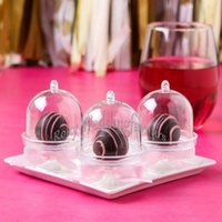 FREE SHIPPING Wholesale 200PCS Acrylic Clear Mini Cake Stand...