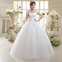 2018 New Wedding Gowns Floor- length Lace Short Sleeves Scoop...
