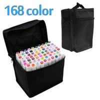 TOUCHFIVE Art Marker Double Headed Markers Set 168 Colors Ma...