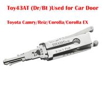 LYY TOY43AT (Dr / Bt) جهاز فك تشفير تلقائي 2 في 1 يستخدم لفتح باب السيارة لأدوات الأقفال Camry / Reiz / Corolla / Corolla EX