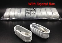 Micro USB Sync Data Cable Charging Line With Crystal Box Pac...