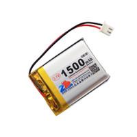 В ядре 1500mAh 703442 3.7 V литий-полимерный аккумулятор 753442703445703545