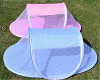 Baby Crib With Mosquito Netting Cute Dot Portable Baby Bed 1...