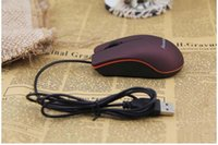 USB Optical Mouse Mini 3D Wired Gaming Mice With Retail Box ...