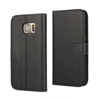 Оптовая 1 шт. Черный PU кожаный бумажник чехол с подставкой стиль и карты держатель для Samsung Galaxy S7 / A3 2016 телефон случае