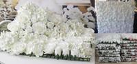 Artificiale rosa fiore di seta muro matrimonio sfondo prato / pilastro fiore strada piombo fiore 50cm * 50cm