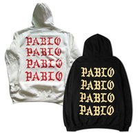 2017 New Men Women I Feel Like Pablo Hoodies Sweatshirts Hip...