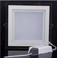 AC 85-265V 6W 12W 18W LED 천장 recessed downlight 아크릴 광장 led 패널 빛