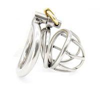 Cintura di cazzo adulto eccellente del dispositivo di castità 40MM del bambino con il sesso a forma di anello del gallo giocattoli del sesso Cintura di castità dell'acciaio inossidabile