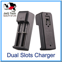 Dual Slots Universal Charger 18650 18350 Battery For Recharg...