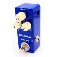Mini Blue Delay Guitar Effect Pedal Clone MAD Professor Deep...