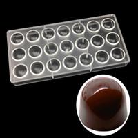 Stampi per cioccolatini in ABS antiaderente Admiralty Shaped Jelly Ice Mold Stampo per dolci Bakeware Strumenti per cottura Stampi in plastica