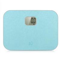 YESHM Eletrônico Balanças Pessoais de Gordura Corporal Balanças de Peso Do Banheiro Uso Doméstico Portátil com Display LCD Azul e Rosa