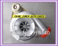 Retail GT3076 GT30 turbo T25 C: A / R .70 T: A / R .86 wastegate water and oil turbocharger turbo 350-480HP Wholesale