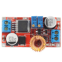 5A DC para DC CC Bateria De Lítio CV Step down Charging Board Led Power Converter Carregador de Lítio Step Down Módulo