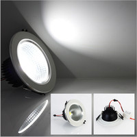 Le plafonnier lumineux superbe de LED AC85-265V 5W / 7W / 9W / 12W refroidissent le blanc / blanc chaud de l'ÉPI LED vers le bas l'éclairage d'intérieur de lampe de lumière