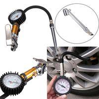 220 PSI car Tire Tyre Air Inflator Pressure Gauge Measuremen...