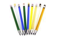 Neue Bleistift dabbers Bunte Bohrinseln Glaspfeife Dab Werkzeug Glas Dabber Für Kawumm Bongs Wasserpfeifen