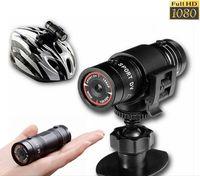 2016 El Feneri Spor Video Kamera HD 1080 P Su Geçirmez Kameralar DV Kamera mini DV Kameralar Araba DVR Için Açık Bisiklet Kask