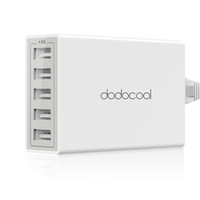 dodocool 40W 8A 5- Port USB Charging Station Travel Wall Char...