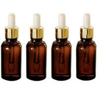 50 STÜCKE 10 ML Braunglas Reagenz Augentropfflasche Aromatherapie Flüssigkeit Pipette Flasche