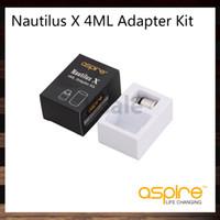 Aspire Nautilus X Replacement Pyrex Glass Tube Clear Frosted Glass Tube Nautilus X 4ML Adapter Kit For Nautilus Tank 100% Original