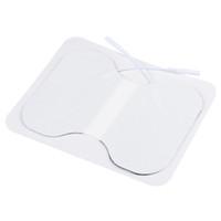 Cuscinetti per elettrodi di massaggio in vita non tessuto Premium di alta qualità per unità Tens / ems con pulsante, FDA Cleared, 5 pezzi