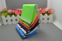 DHL portátil Soporte de ángulo portátil Soporte de cuna Soporte de escritorio flexible Soporte para teléfono Soporte de soporte Soporte para teléfono iPad Tableta