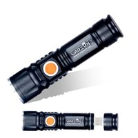 USB- Charger Powerful Lanterna Tactical Torch Flash Light Lin...